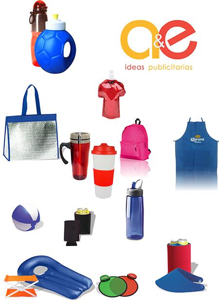 a&e ideas publcitarias nosotros merchandising empresarial