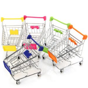 2016-1PCS-Recent-Supermarket-Shopping-Mini-Trolley-Phone-Holder-Office-Desk-font-b-Storage-b-font